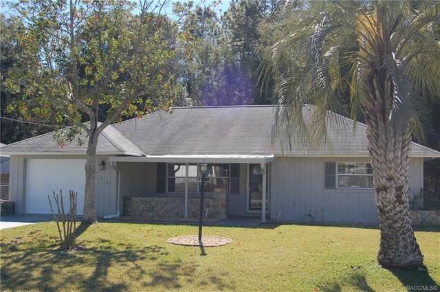 1130 W Buttonbush Drive, Beverly Hills, FL 34465 (MLS #789626) :: Pristine Properties