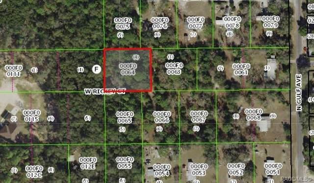 7031 W Rickey Court, Crystal River, FL 34428 (MLS #789979) :: Plantation Realty Inc.