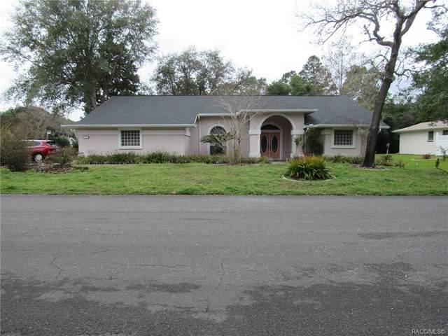 1 W Salvia Court, Homosassa, FL 34446 (MLS #790025) :: Plantation Realty Inc.