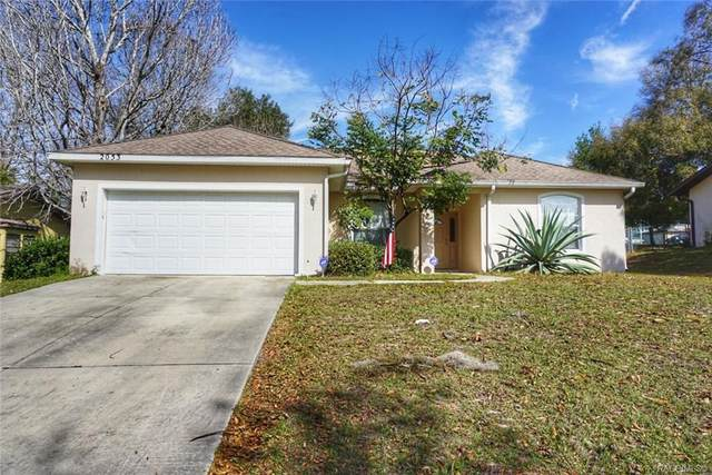 2053 W Shining Dawn Lane, Lecanto, FL 34461 (MLS #790027) :: Plantation Realty Inc.