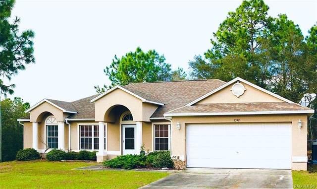 2599 W Diane Lane, Citrus Springs, FL 34434 (MLS #790146) :: Plantation Realty Inc.