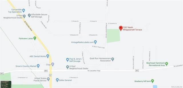 7357 N Whippoorwill Terrace, Hernando, FL 34442 (MLS #791040) :: Pristine Properties