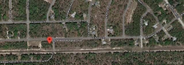 2524 W Rutland Drive, Citrus Springs, FL 34434 (MLS #792109) :: Plantation Realty Inc.