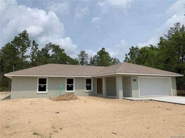3125 W Randolph Lane, Citrus Springs, FL 34433 (MLS #792144) :: Plantation Realty Inc.