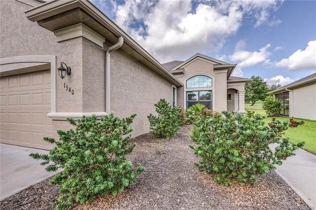 1540 W Caroline Path, Lecanto, FL 34461 (MLS #792967) :: Pristine Properties