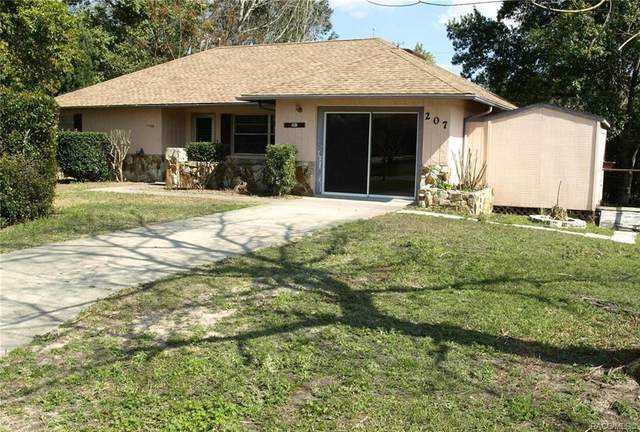 207 S Fillmore Street, Beverly Hills, FL 34465 (MLS #792985) :: Pristine Properties