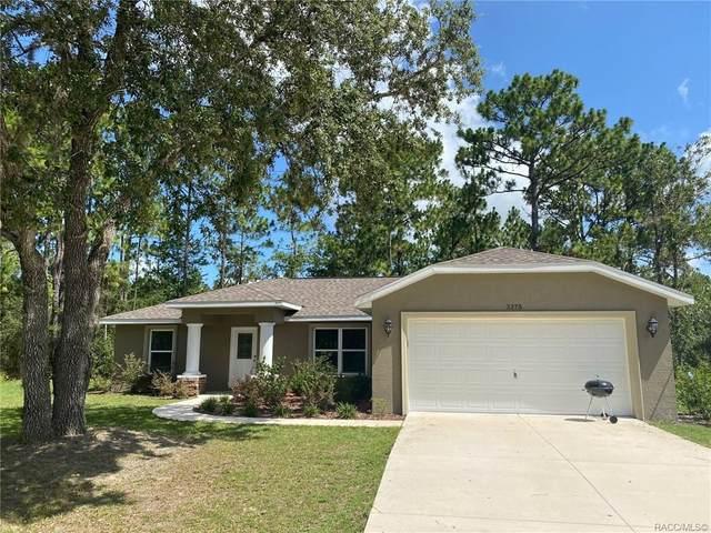 3375 W Eldridge Drive, Citrus Springs, FL 34433 (MLS #793278) :: Pristine Properties
