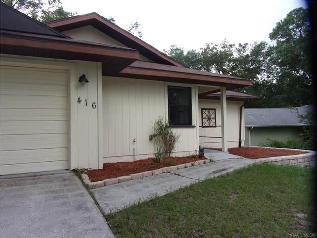 416 E Circlewood Street, Inverness, FL 34452 (MLS #793804) :: Plantation Realty Inc.