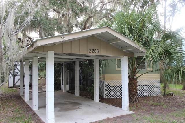 2206 S Ferndell Point, Crystal River, FL 34429 (MLS #794216) :: Plantation Realty Inc.