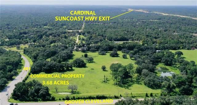 3320 W Grover Cleveland Boulevard, Homosassa, FL 34446 (MLS #795156) :: Plantation Realty Inc.