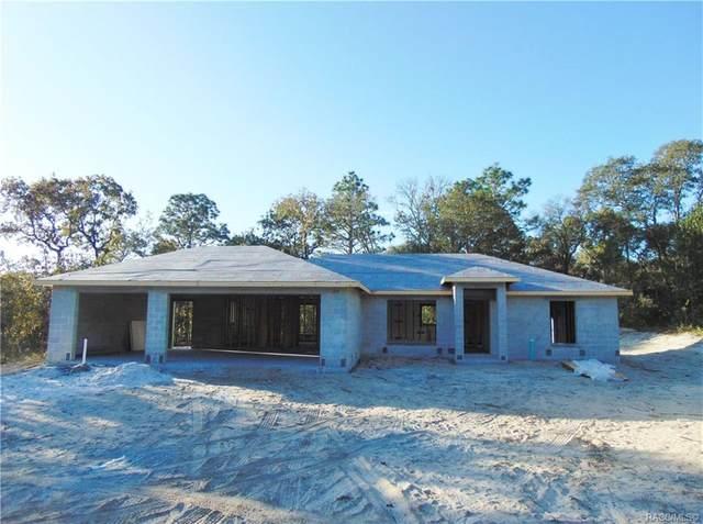 2262 W Swanson Drive, Citrus Springs, FL 34434 (MLS #795911) :: Plantation Realty Inc.