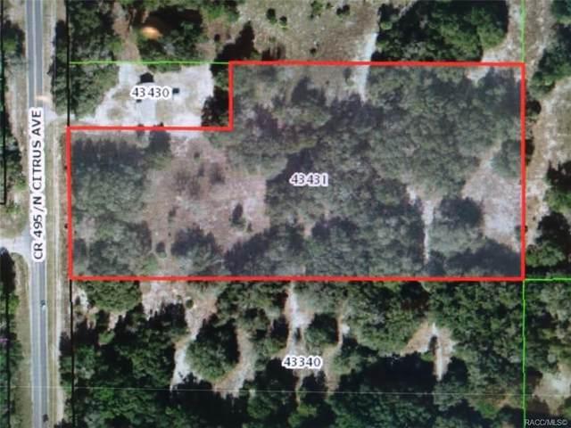 9643 Citrus Avenue, Crystal River, FL 34428 (MLS #796403) :: Plantation Realty Inc.