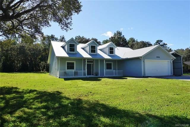 2604 W Antioch Lane, Lecanto, FL 34461 (MLS #796742) :: Plantation Realty Inc.
