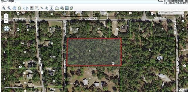 31 S Hanley Terrace, Lecanto, FL 34461 (MLS #797037) :: Plantation Realty Inc.