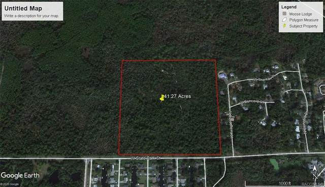 0 W State Park Street, Crystal River, FL 34428 (MLS #797982) :: Plantation Realty Inc.