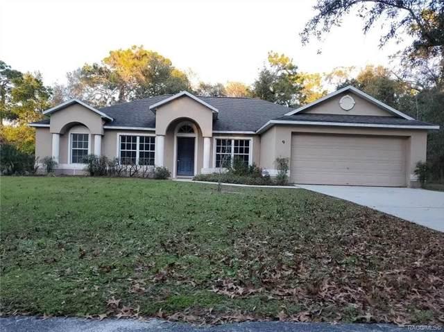 9 Rebecca Court, Homosassa, FL 34446 (MLS #798127) :: Plantation Realty Inc.