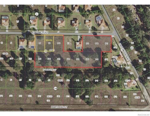 4348 E Bennett Lot 8 Street, Inverness, FL 34453 (MLS #798442) :: Plantation Realty Inc.
