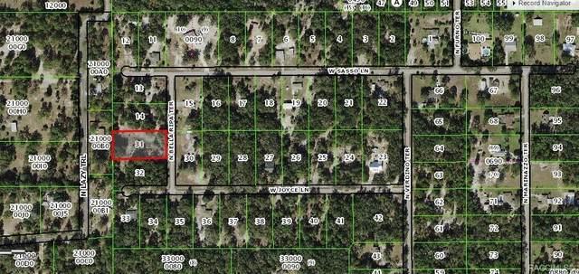8360 N Bella Ripa Terrace, Crystal River, FL 34428 (MLS #798927) :: Plantation Realty Inc.