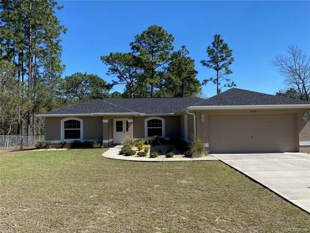 9699 N Fairy Lily Drive, Citrus Springs, FL 34433 (MLS #798967) :: Plantation Realty Inc.
