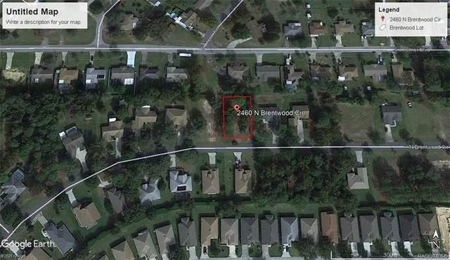 2460 N Brentwood Circle, Lecanto, FL 34461 (MLS #798968) :: Plantation Realty Inc.