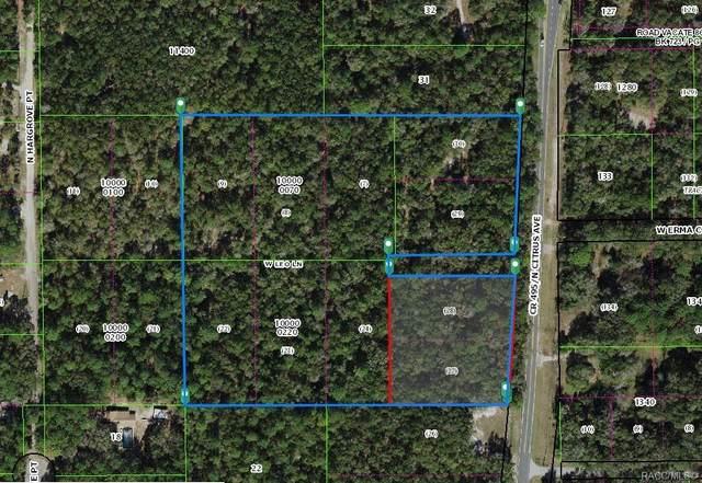 7768 N Citrus Avenue, Crystal River, FL 34428 (MLS #799185) :: Plantation Realty Inc.