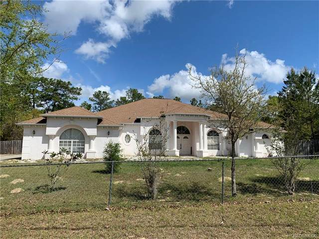 8628 N Iberian Drive, Citrus Springs, FL 34433 (MLS #799914) :: Plantation Realty Inc.