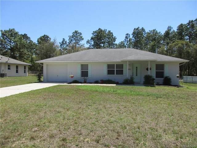 3326 W Marie Drive, Citrus Springs, FL 34433 (MLS #800002) :: Plantation Realty Inc.