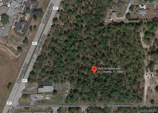 2605 W Woodview Lane, Lecanto, FL 34461 (MLS #800115) :: Plantation Realty Inc.