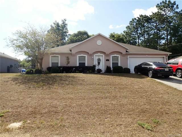 8326 N Santos Drive, Citrus Springs, FL 34434 (MLS #800171) :: Plantation Realty Inc.