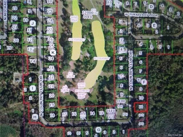 175 N Country Club Drive, Crystal River, FL 34429 (MLS #800370) :: Dalton Wade Real Estate Group