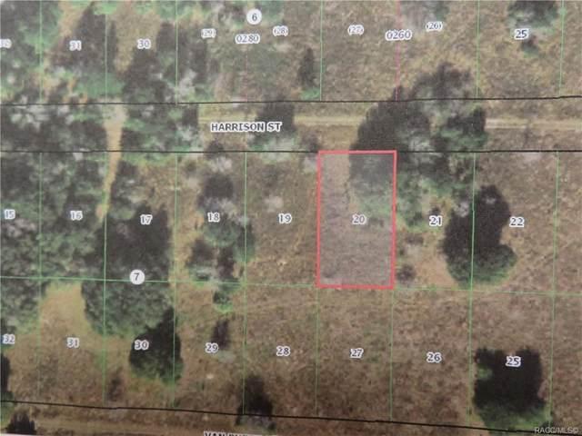 2307 Harrison Street, Inverness, FL 34453 (MLS #800755) :: Plantation Realty Inc.