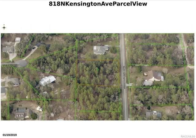 818 N Kensington Avenue, Lecanto, FL 34461 (MLS #801232) :: Plantation Realty Inc.