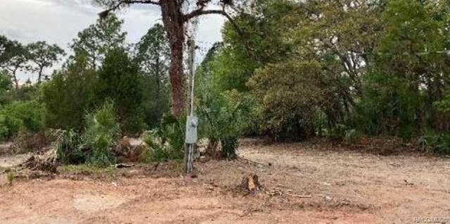 1692 N Rock Cress Path, Crystal River, FL 34429 (MLS #801419) :: Plantation Realty Inc.