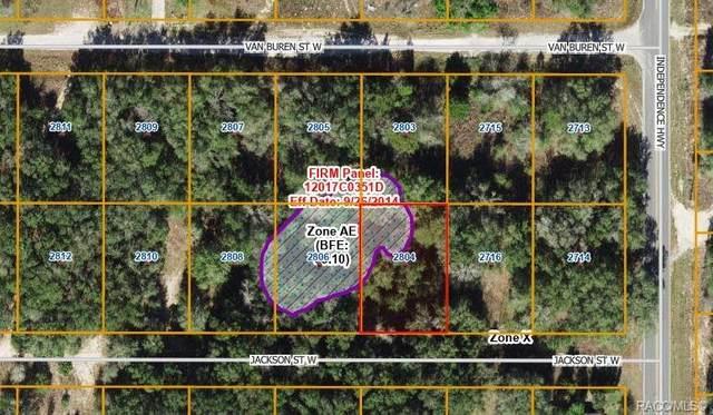 2804 Jackson Street W, Inverness, FL 34453 (MLS #802303) :: Plantation Realty Inc.