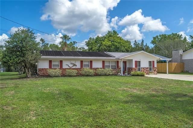 10085 W Halls River Road, Homosassa, FL 34448 (MLS #802378) :: Plantation Realty Inc.