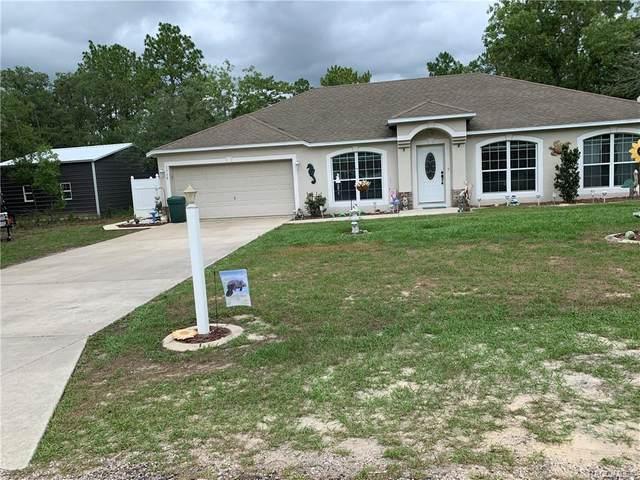 1715 Cary Drive, Citrus Springs, FL 34434 (MLS #802408) :: Plantation Realty Inc.