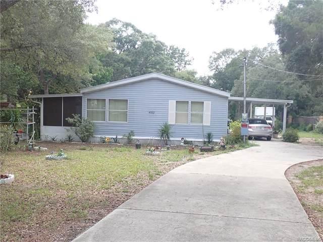 4922 S High Ridge Terrace, Homosassa, FL 34446 (MLS #802467) :: Plantation Realty Inc.