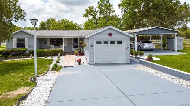 3480 W Woodthrush Street, Lecanto, FL 34461 (MLS #803224) :: Plantation Realty Inc.