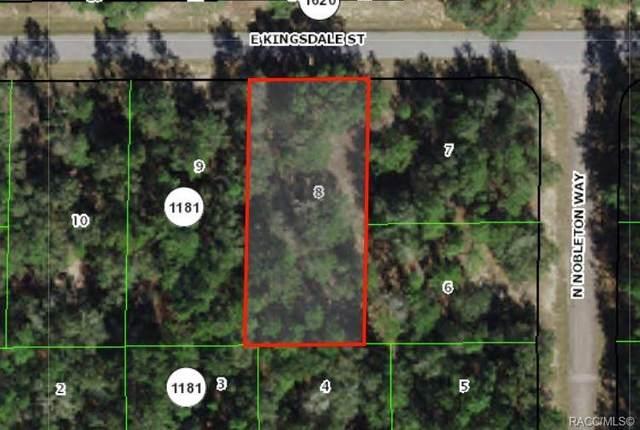 600 E Kingsdale Street, Citrus Springs, FL 34434 (MLS #804139) :: Plantation Realty Inc.