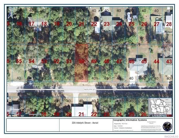224 Adelphi Street, Inverness, FL 34452 (MLS #804170) :: Plantation Realty Inc.
