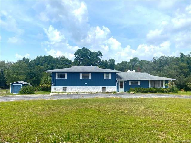 5642 S Oakridge Drive, Homosassa, FL 34448 (MLS #805097) :: Plantation Realty Inc.