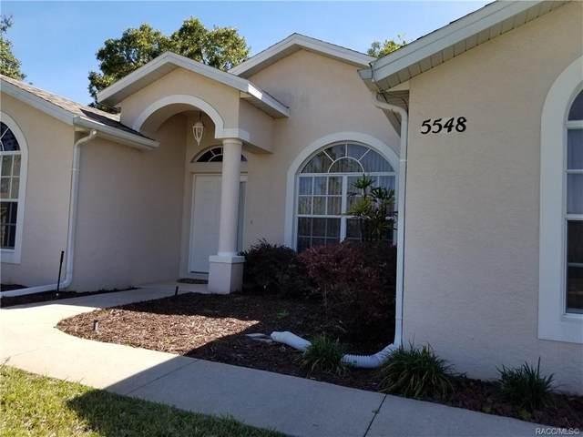 5548 W Hunter's Ridge Circle, Lecanto, FL 34461 (MLS #805438) :: Plantation Realty Inc.