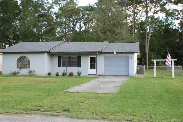 7656 W Rosedale Drive, Homosassa, FL 34446 (MLS #806662) :: Plantation Realty Inc.