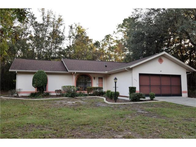 204 E Savoy Street, Lecanto, FL 34461 (MLS #RA753419) :: Plantation Realty Inc.