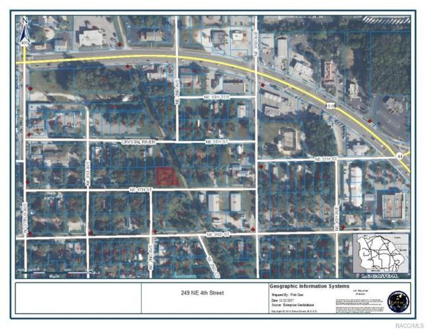 0 NE 4th Street, Crystal River, FL 34429 (MLS #764751) :: Plantation Realty Inc.