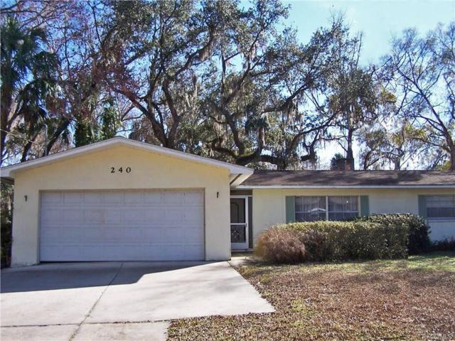 240 Mastadon Drive, Inglis, FL 34449 (MLS #768918) :: Plantation Realty Inc.