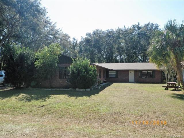 10890 W Gem Street, Crystal River, FL 34428 (MLS #770553) :: Plantation Realty Inc.