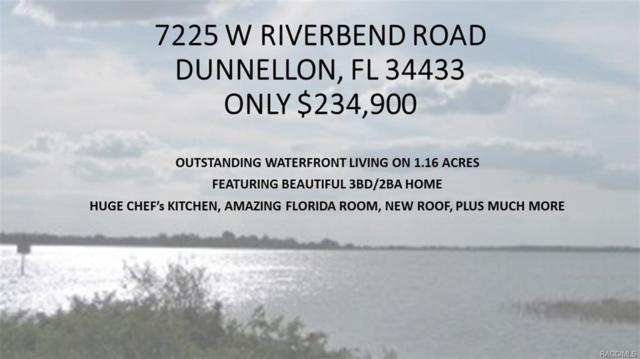 7225 W Riverbend Road, Dunnellon, FL 34433 (MLS #773566) :: Plantation Realty Inc.