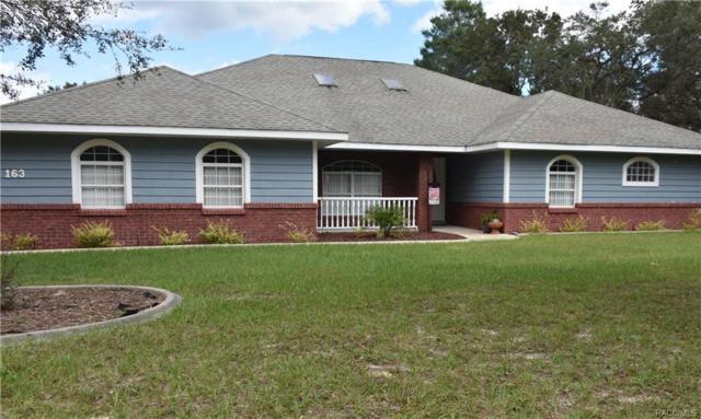 163 N Brighton Road, Lecanto, FL 34461 (MLS #777531) :: Plantation Realty Inc.