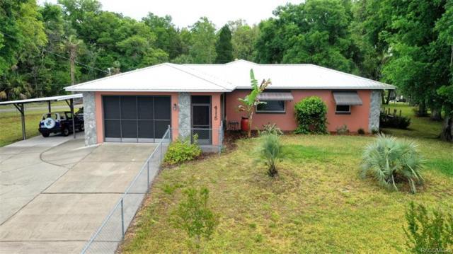 4115 N Little Hawk Point, Crystal River, FL 34428 (MLS #781931) :: Pristine Properties
